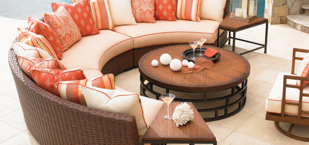 Tommy Bahama Ocean Club outdoor furniture at Carefree Outdoor Living